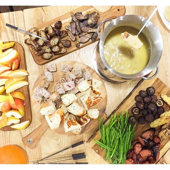 Cider and cheese FondueMy Site